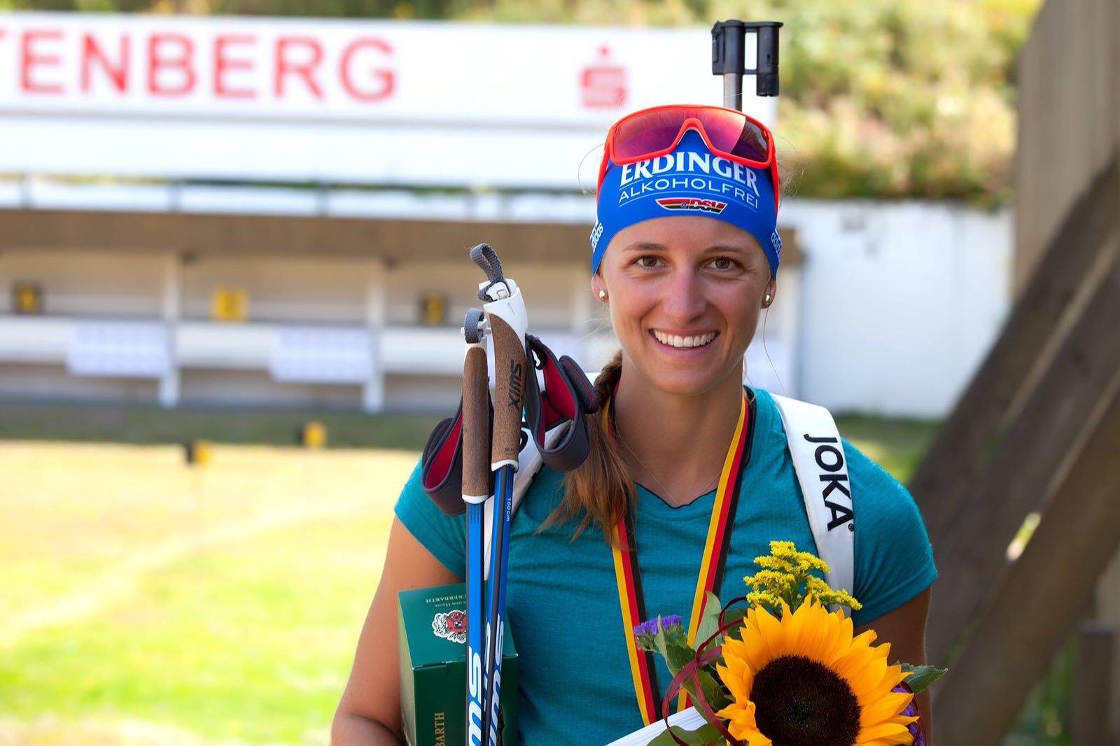 Vanessa Hinz Erfolge Biathlon DM 2016